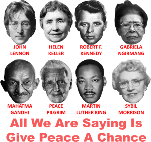 Give Peace A Chancce